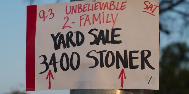 Yard-Saling for Dummies