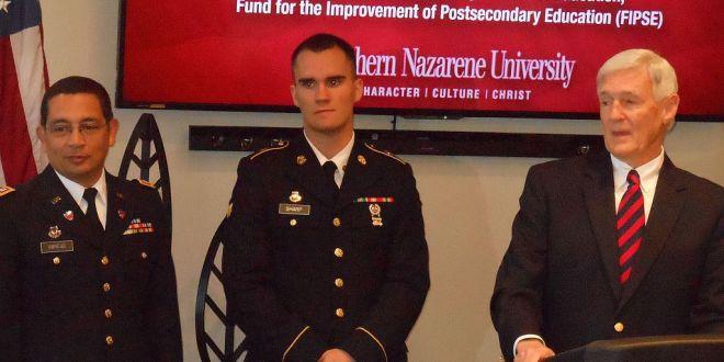SNU Only School in Oklahoma to Receive Veterans Grant