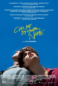 Poster for Call Me By Your Name