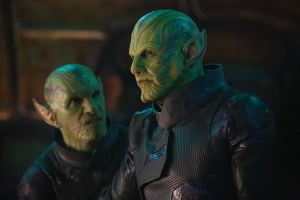 The Skrulls (green alien antagonists)