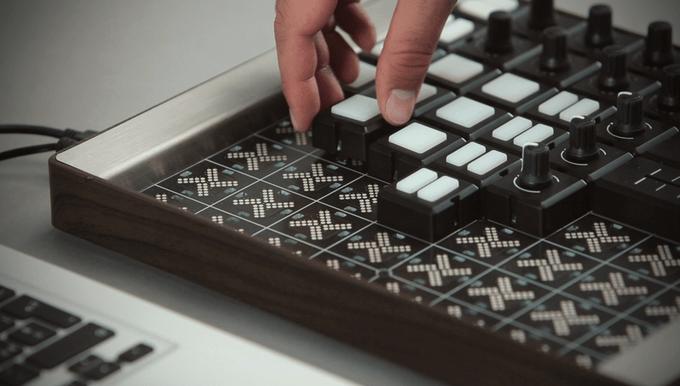 自分の好きなカスタマイズができるモジュラー式MIDIコントローラー「Mine - Modular Controller」