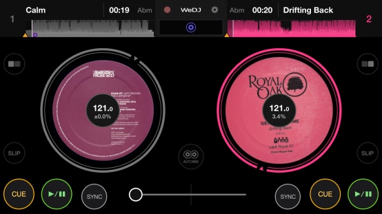 Pioneer DJ - WeDJ for iPhone