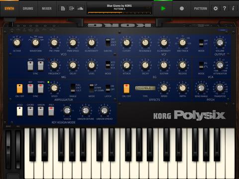 KORG - KORG iPolysix for iPad