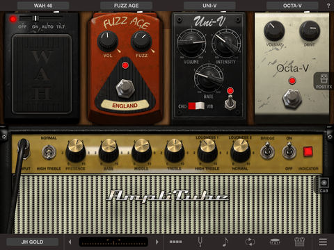 AmpliTube Jimi Hendrix for iPad