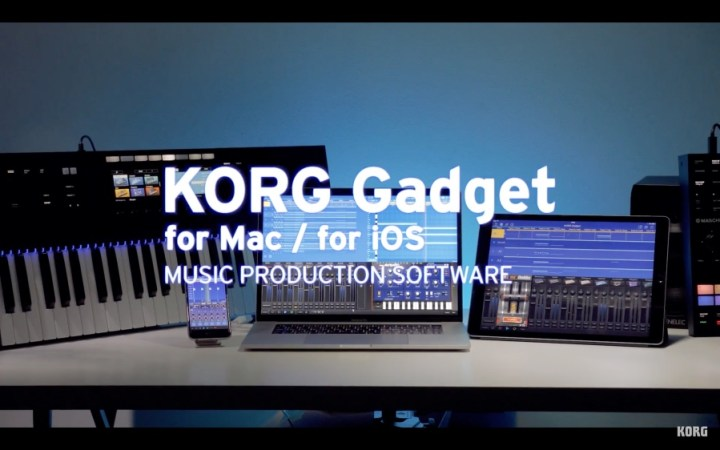Announcing KORG Gadget for Mac 1.5 | for iOS 3.5