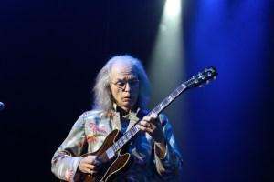 Yes guitarist Steve Howe as aged Riff Raff