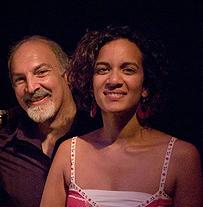 John Diliberto and Anoushka Shankar