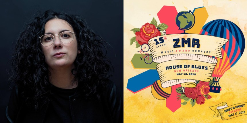 Alexandra Streliski Headshot and ZMR poster