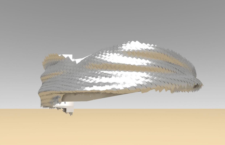 Philharmonie - facade tourbillon - rendering