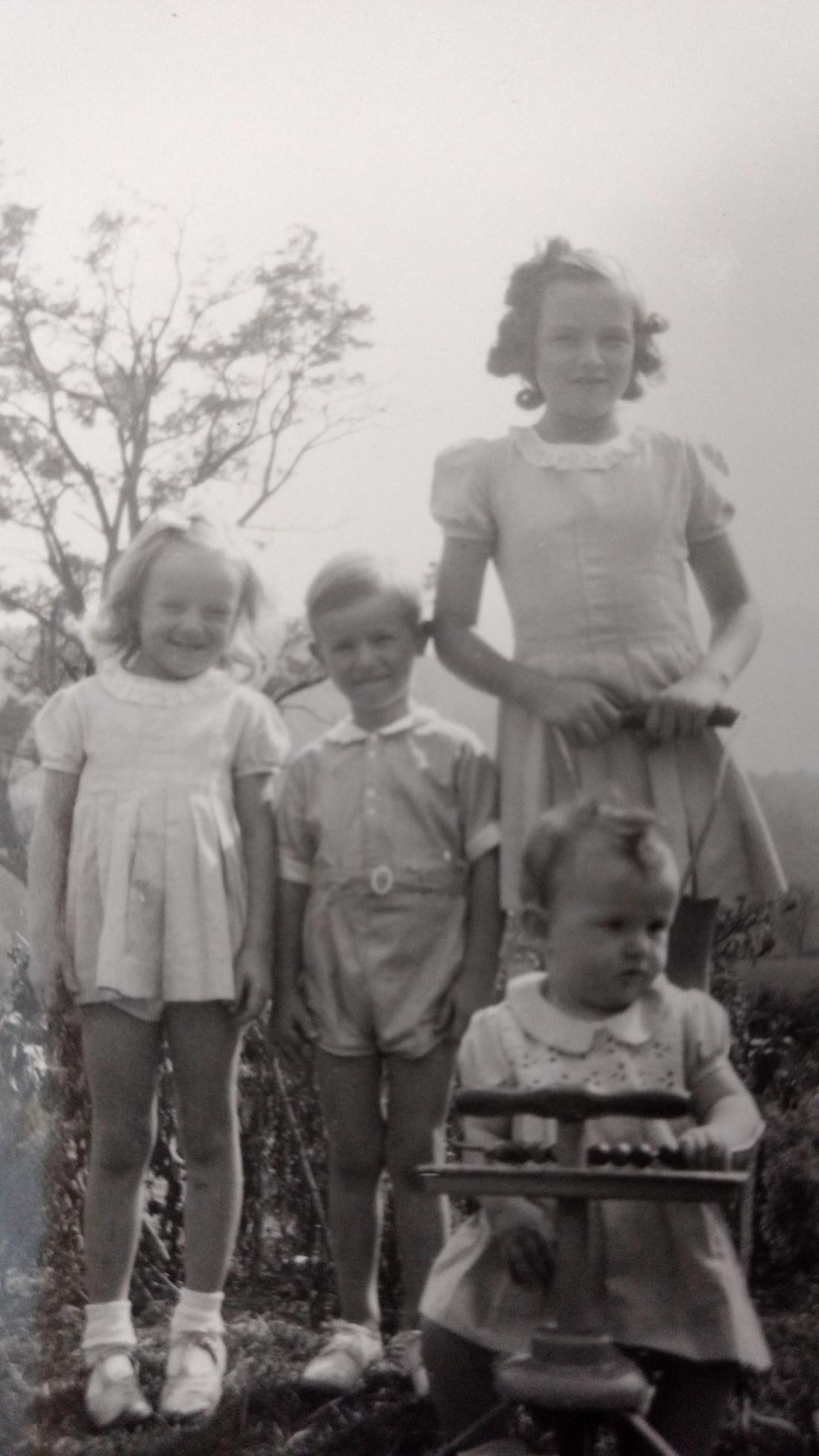 Barbara, Ted, Nancy, Jeanie