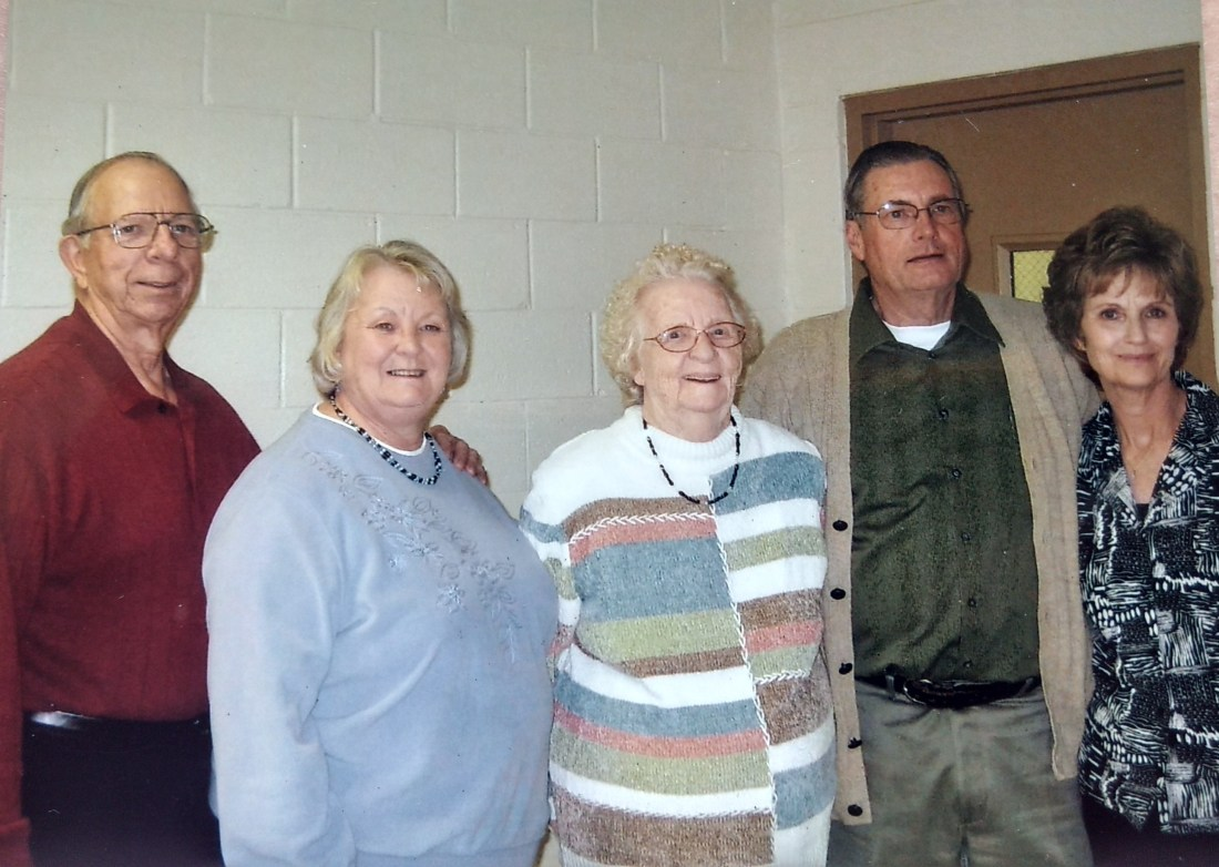 Betty Louise's Husband - Richard, Rachel's daughter - Betty Louise, Rachel, Rachel's son - Jim, Jim's wife - Marsha