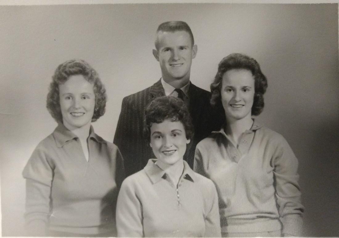 Barbara, Nancy, Jeanie, Ted