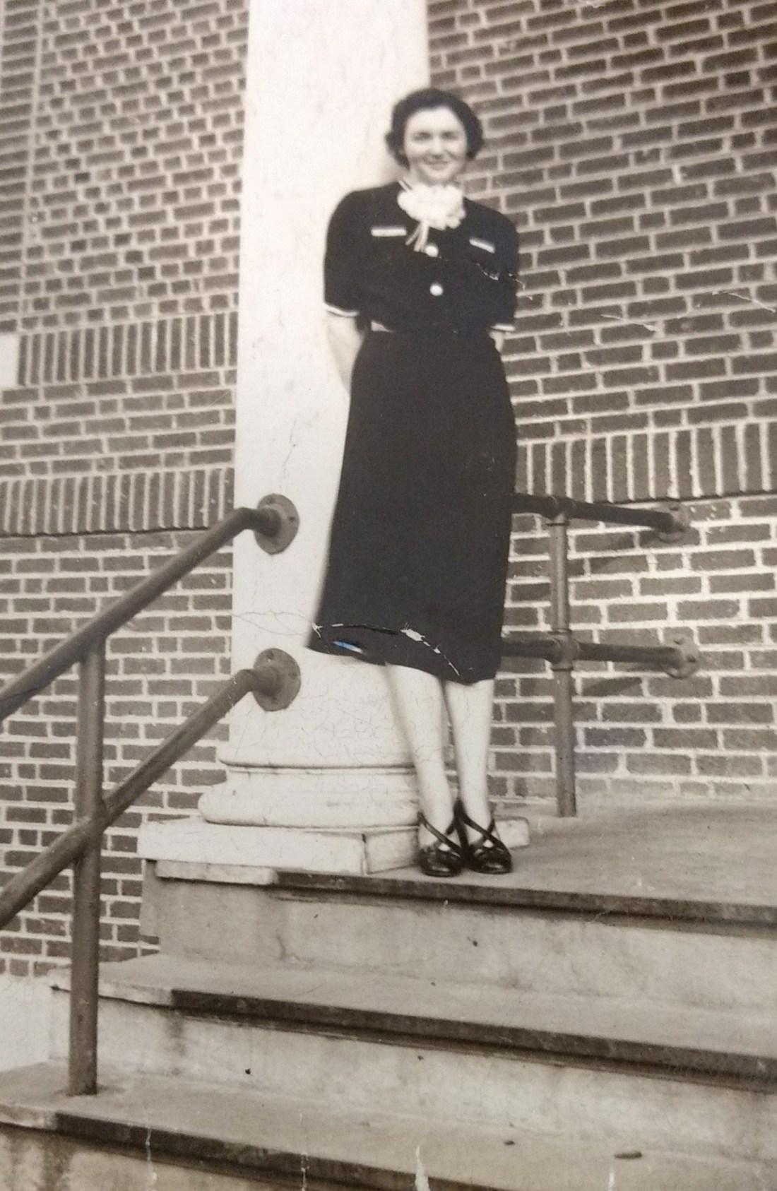 Mabel Hall at Catawba School 1939