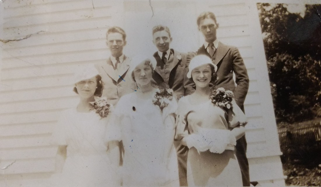 Class of 1934Johnny Giles, Corky Custer, Clay Hallunknown, Lois Martin, Louise Layman