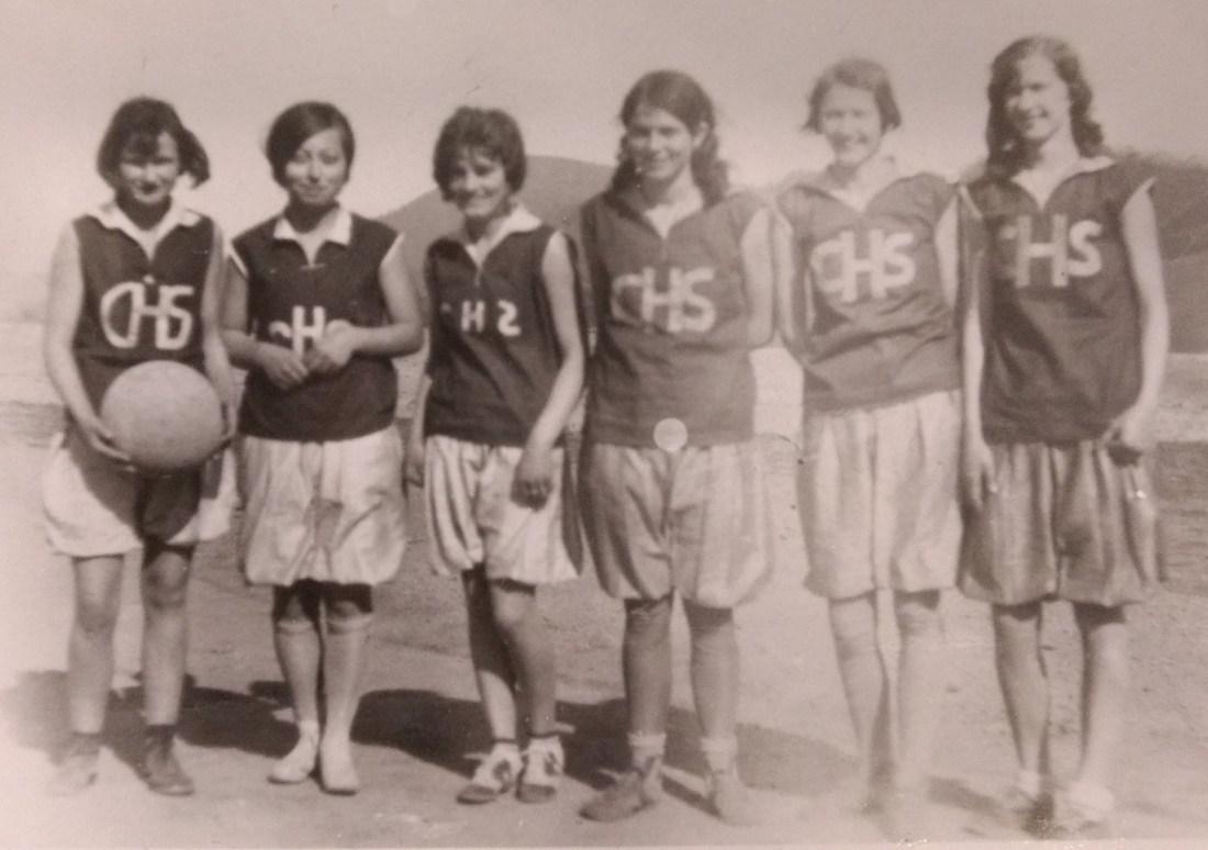 Elizabeth Carroll Eakin, Clyde Starkey, Irene Howdyshell, Grace Deeds, Cleo Martin, Goldie Damewood