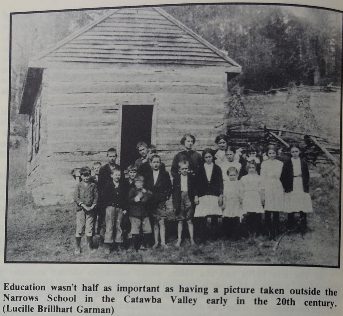 Narrows School 1871-1926