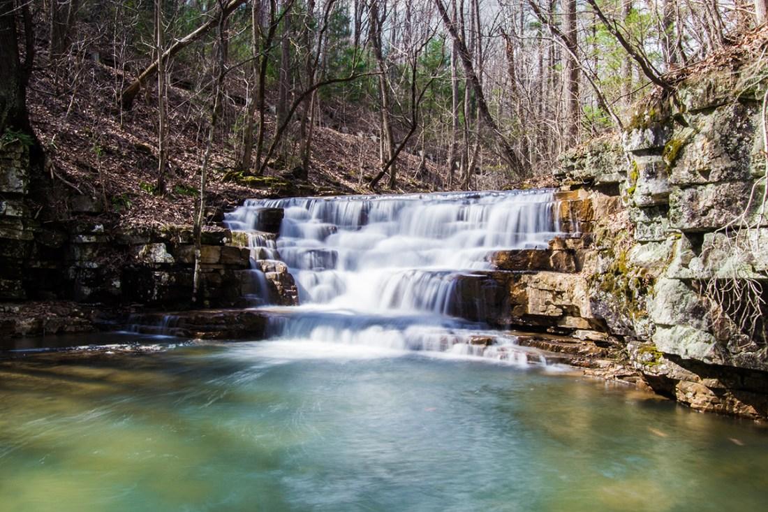 Fenwick Mines Waterfall