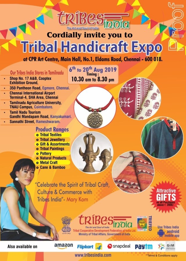 thumbnail_E-invite-Tribal handicraft Expo