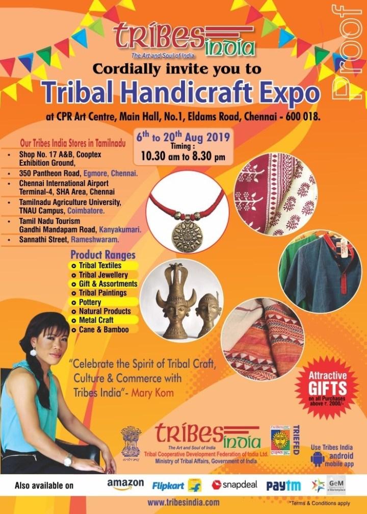 thumbnail_E-invite-Tribal handicraft Expo