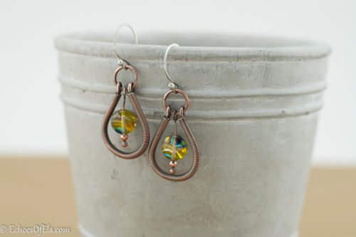 copper-coil-yellow-glass-earring3