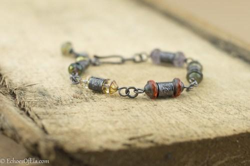 copper-floral-tube-Czechglass-bracelet7