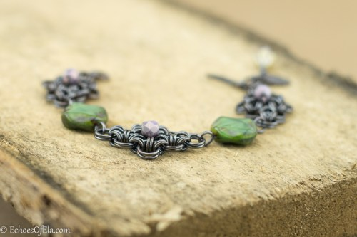 black-copper-green-lavender-rhombus-bracelet8
