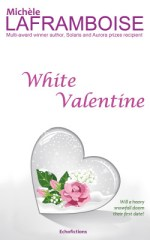 The cover of White Valentine, a funny winter romance