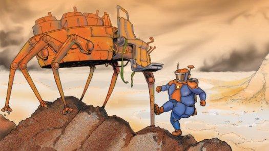 Une géologue formidable... en panne sur Mars