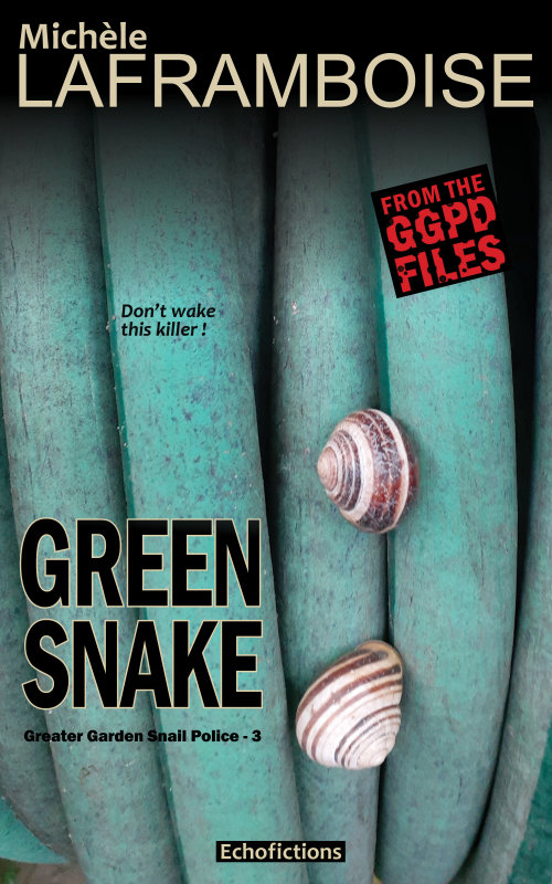 Green Snake, a new Greater Garden Snail Police story