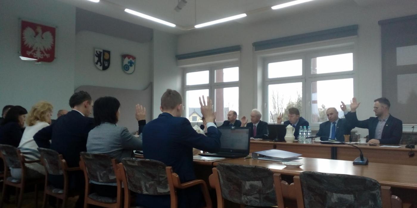 Pouczająca sesja Rady Gminy Dobrzeń Wielki 1