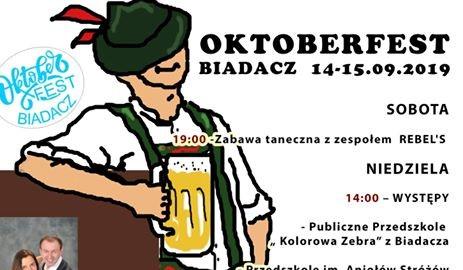 Oktoberfest w Biadaczu już od soboty 4