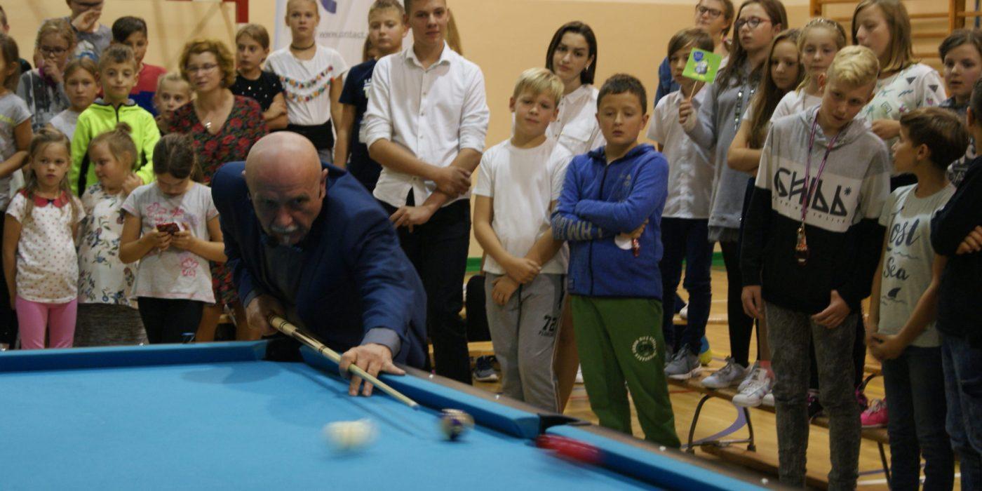 Mistrz świata, Europy i Polski gościł w chróścickiej szkole 1