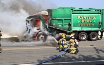 Garbage Truck Fire 2