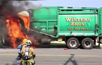 Garbage Truck Fire 3
