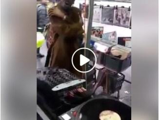 Garfield Fleming sings Don't Send Me Away At Flea Market