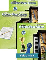 Dennis Alexander, Gayle Kowalchyk, E. L. Lancaster, Victoria McArthur, and Martha Mier - Premier Piano Course, Lesson, Theory & Performance 2B 2012 (Value Pack)