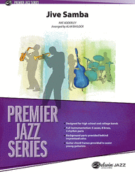Nat Adderley - Jive Samba for sheet music from Belwin Music (Jazz)