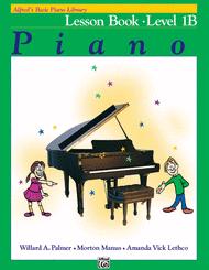 Willard A. Palmer - Alfred's Basic Piano Library Lesson Book, Book 1B