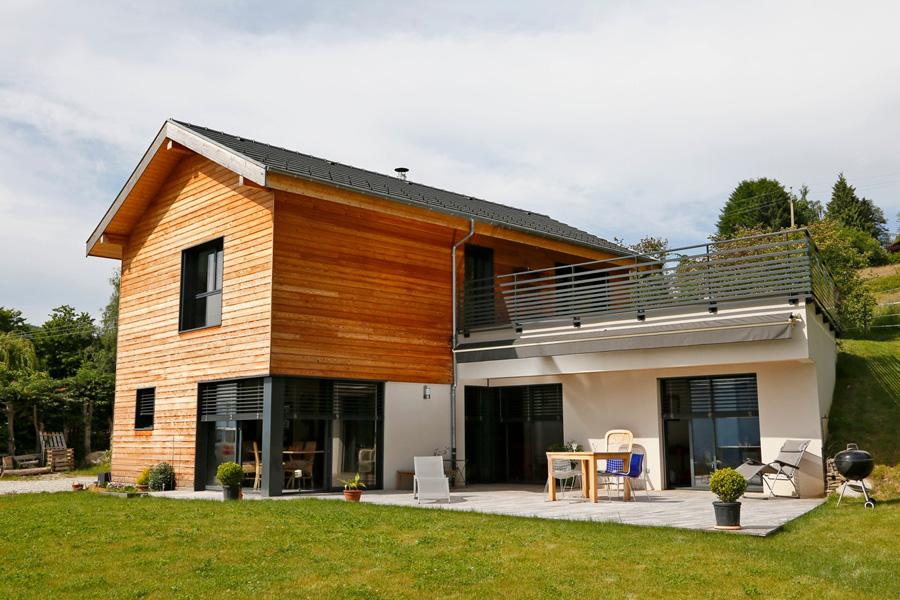 Maison bois isere segu maison for Constructeur de maison en bois en drome ardeche