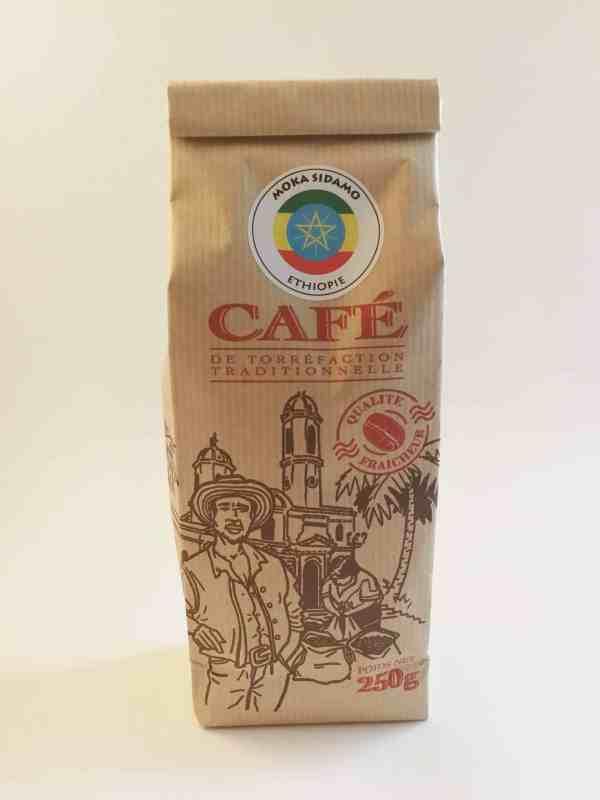 Café Arabica Moka Sidamo Ethiopie