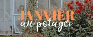 Cultures de janvier au potager : aromatique, plante et fleur de saison : nettoyer les outils de jardin et pots en terre cuite
