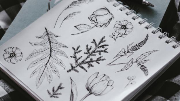 Botanicals Art Journaling Theme