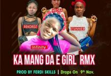 Infinity ft Medra Stunner Rekordz Ka Manda Egirl remix prod by Ferdiskillz - Infinity