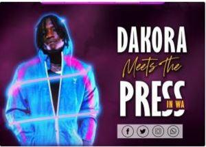 3 300x215 - Dakora organizes the first ever artiste press meeting in the upper west region