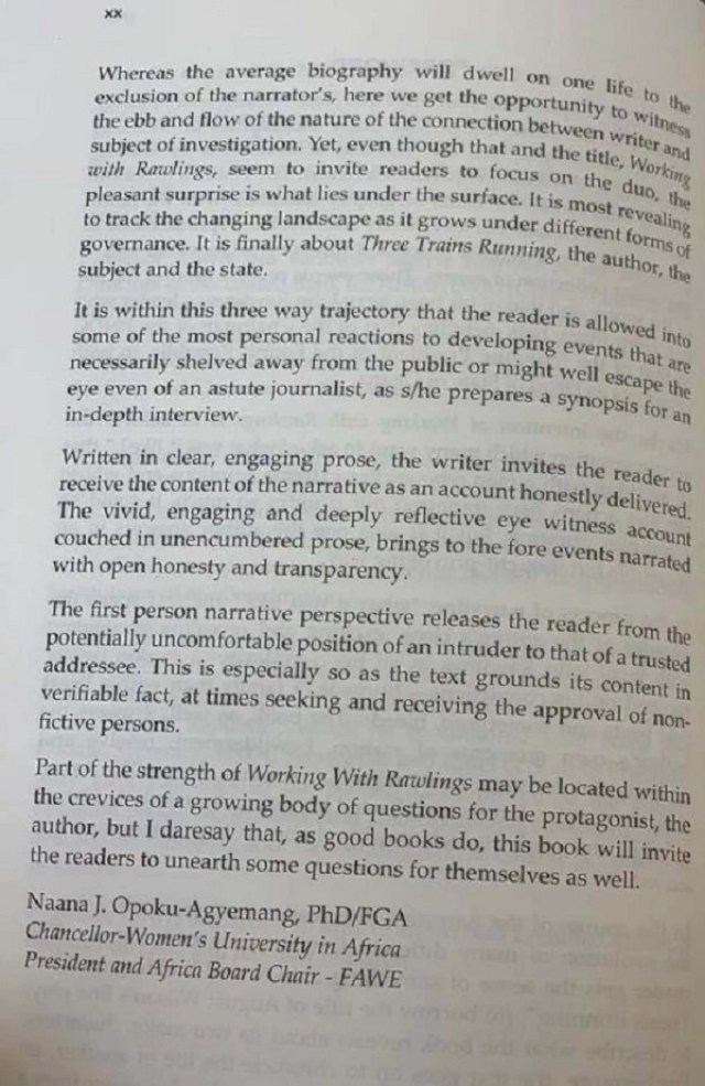 85931986 195x300 - See what Prof Naana Jane Opoku-Agyemang wrote in the foreword of 'Working with Rawlings'