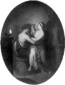 corinthian maid -the-origin-of-painting--1775 or me,shadow dancing