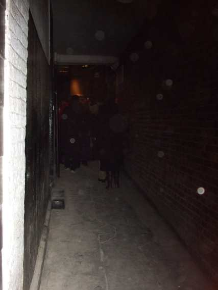 Ghosts of the past walk this way (with orbs)