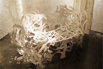 petit jardin 2006 laser cut steel indoor and outdoor