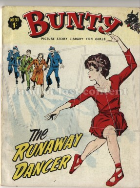 Bunty first printed in 1958