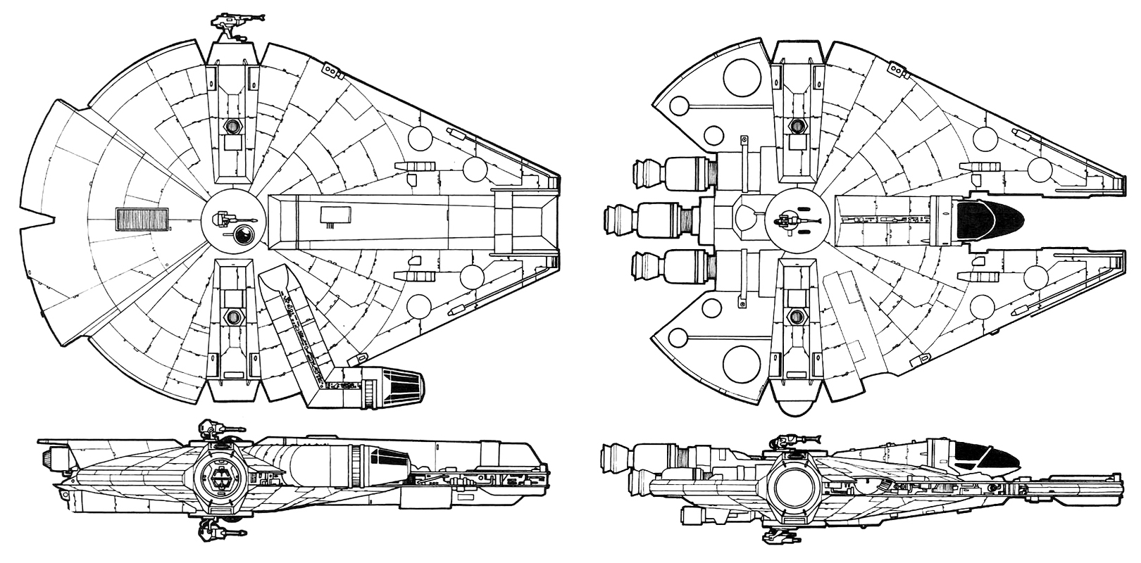 Landos Millennium Falcon Starwars
